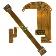Customize Flexible flex PCB sample N Layer FR4 Prototype Manufacture Etching Fabrication